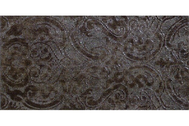 Solid Damasco gris decor 25x50