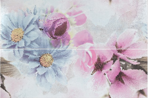 Candy daisy-2 malva decor 25x75