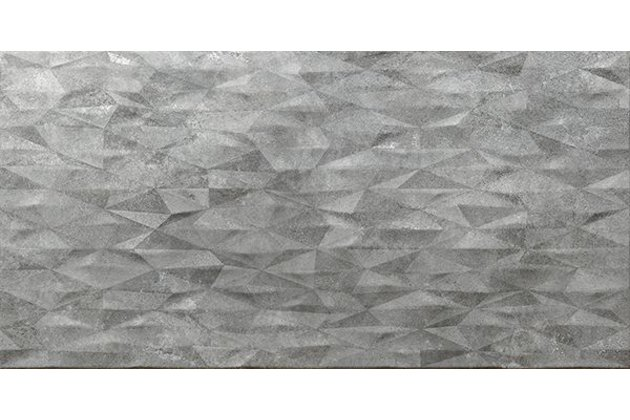 Zermatt decor jet gris 45,5x90
